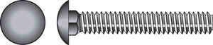 Hillman  3/8 in. Dia. x 4 in. L Hot Dipped Galvanized  Steel  Carriage Bolt  50 pk