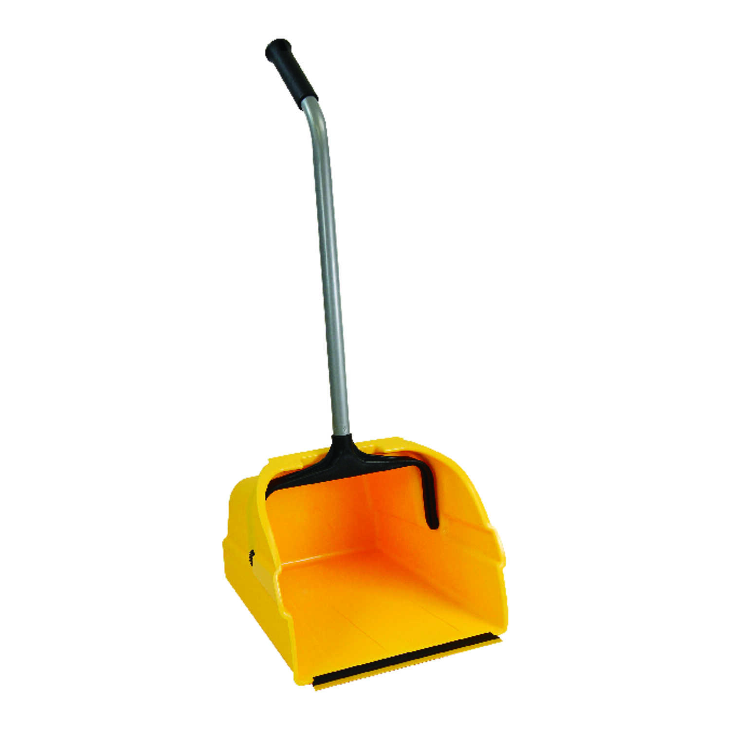 Quickie  Plastic  Stand-Up Long Handled  Dust Pan
