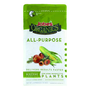 Jobe's  Organics All Purpose  Granules  Organic Plant Food  4 lb.