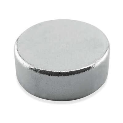 Master Magnetics .118 in. Neodymium Super Disc Magnets 2.9 lb. pull 35 MGOe Silver 10 pc.