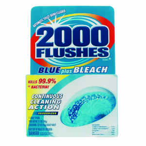 2000 Flushes  Clean Scent Automatic Toilet Bowl Cleaner  4 oz. Tablet