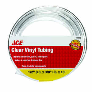 Ace  ProLine  3/8 in. Dia. x 10 ft. L Vinyl Tubing