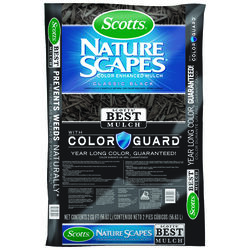 Scotts Nature Scapes Classic Black Bark Color-Enhanced Mulch 2 cu. ft.