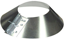 Imperial Manufacturing  3 in. Dia. 30 Ga. Galvanized Steel  Storm Collar