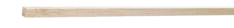 Midwest Products  1/2 in. W x 3 ft. L x 1/2 in.  Strip  Balsawood