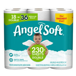 Angel Soft  Toilet Paper  18 roll 234 sheet