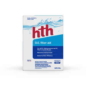 hth  Diatomaceous Earth Filter Aid  24 lb. 11-7/16 in. W x 12-7/8 in. L