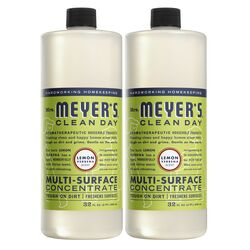 Mrs. Meyer's  Lemon Verbena Scent Concentrated Organic Multi-Surface Cleaner, Protector and Deodoriz