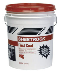 Sheetrock First Coat White Flat Latex Primer 5 gal.