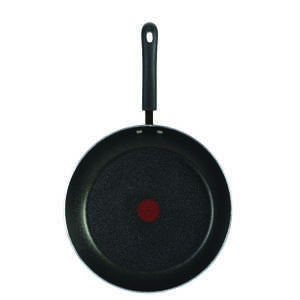 T-Fal  Professional  Aluminum/Stainless Steel  Saute Pan  12-1/2 in. Black
