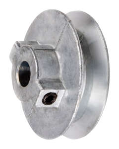 Chicago Die Cast Single V Grooved Pulley A 2-1/2 in. x 1/2 in. Bulk