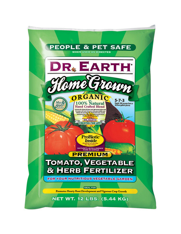 Dr. Earth  Home Grown  Granules  Organic Veggie Maker  12 lb.