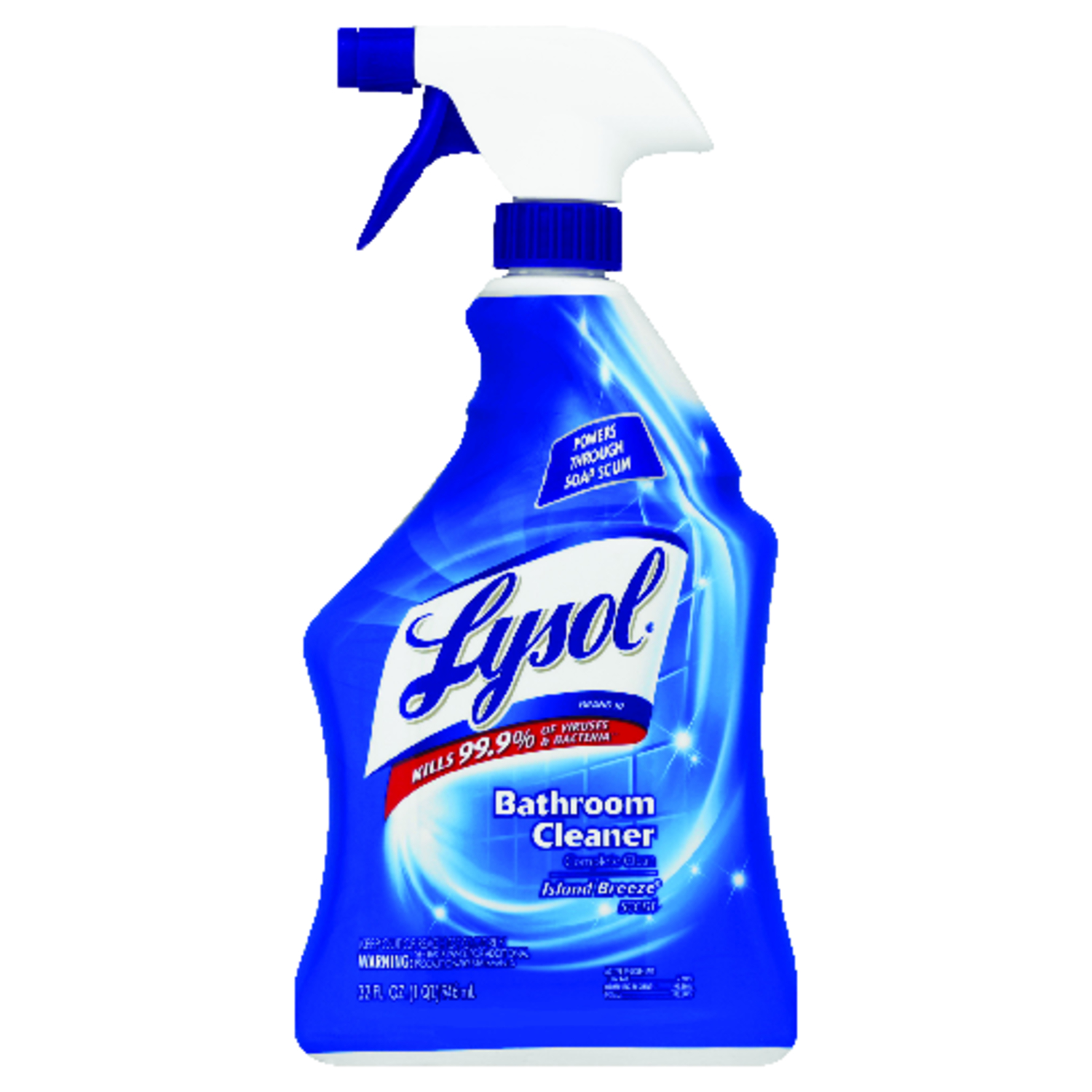 Lysol Island Breeze Scent Bathroom Tub and Tile Cleaner 32 oz ...