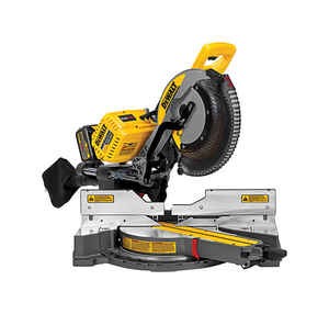 DeWalt  Flexvolt  12 in. Cordless  Brushless Dual-Bevel Sliding Compound Miter Saw  Kit 120 max volt