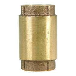 Campbell  1-1/4 in. Dia. x 1-1/4 in. Dia. Red Brass  Spring Loaded  Check Valve