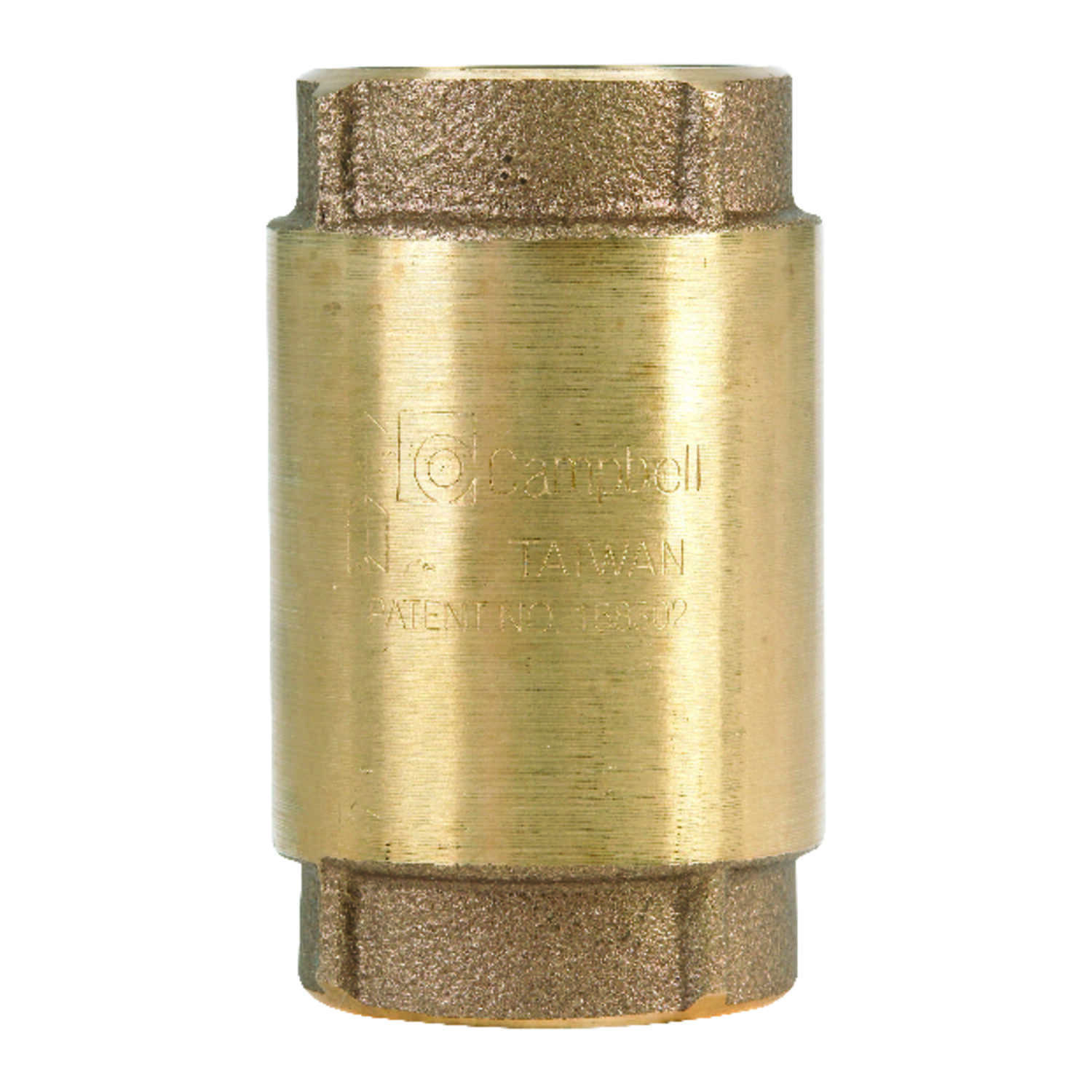 Campbell  1 1/4 in FIP X 1 1/4in FIP  Red Brass  Spring  Check Valve
