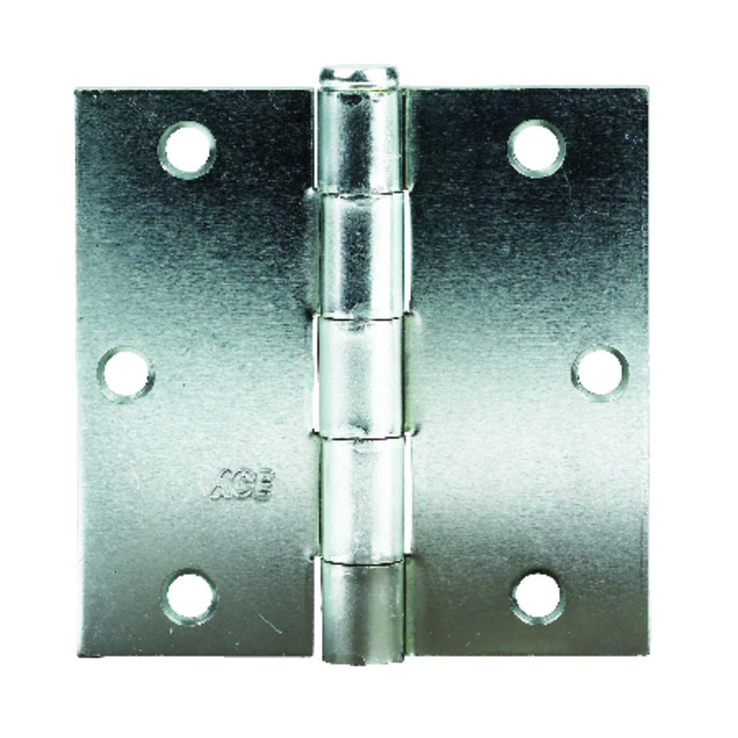 Ace  3-1/2 in. L Zinc-Plated  Steel  Broad Hinge  1