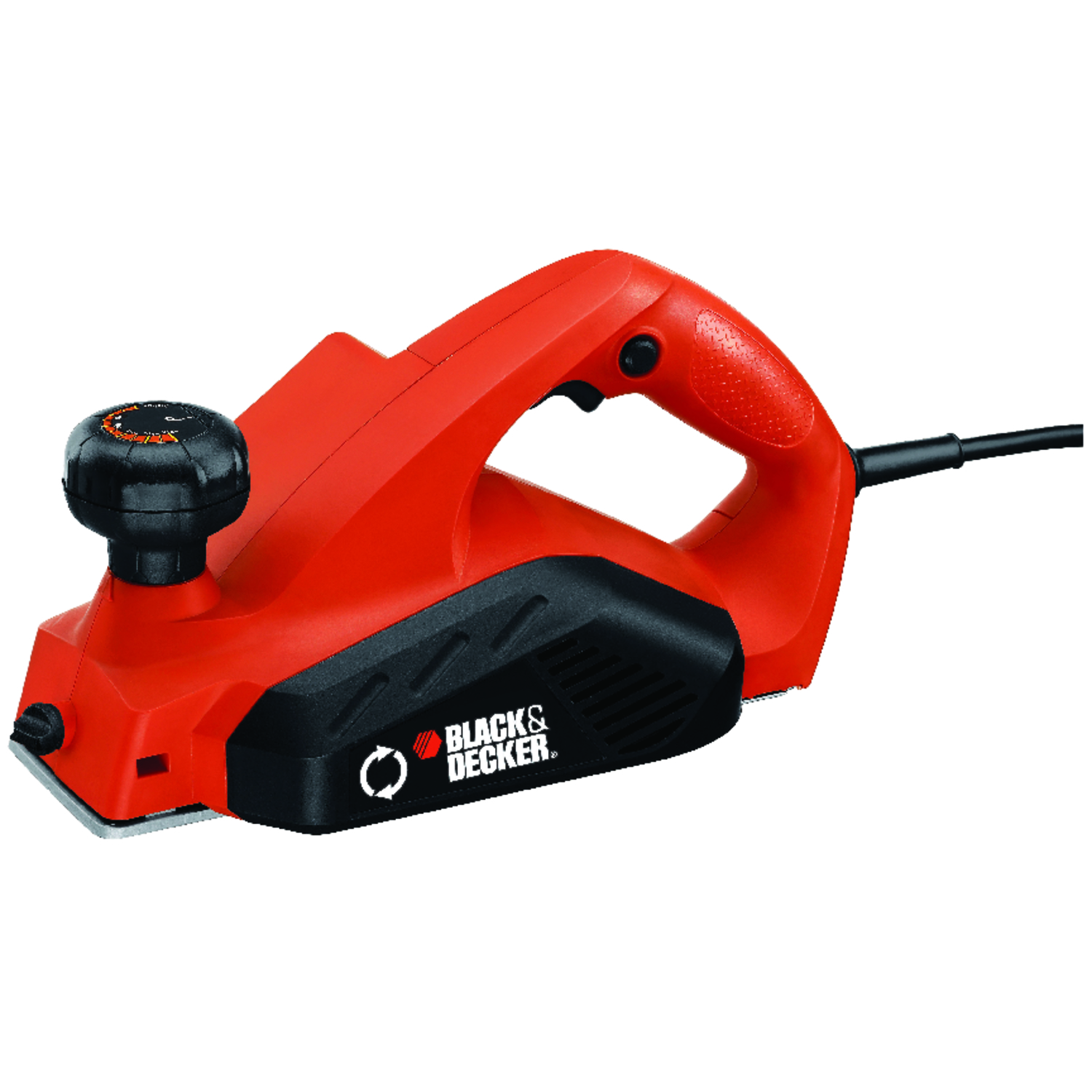 Black and Decker  1/8 in. D Planer  Kit Corded  4 blade