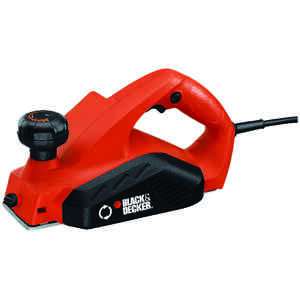Black and Decker  Corded  Planer  Kit 5.2 are 1/8 in. D 4 blade