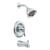 Moen Banbury 1-Handle Chrome Tub and Shower Faucet