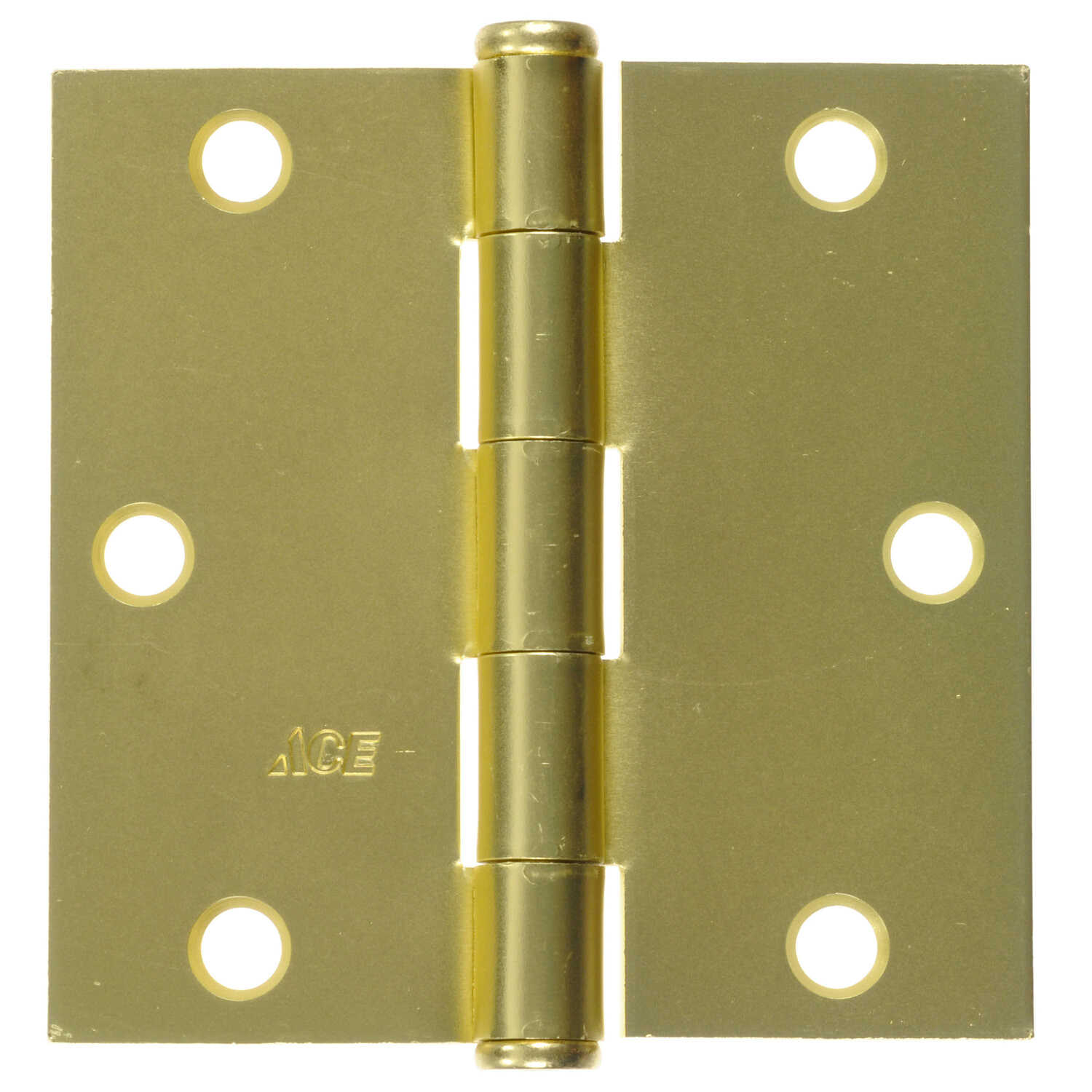 Ace  3-1/2 in. L Satin Brass  Steel  Residential Door Hinge  1 pk