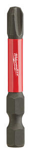 Milwaukee  SHOCKWAVE  Phillips  #3   x 2 in. L Impact Duty  Screwdriver Bit  Steel  1 pc.