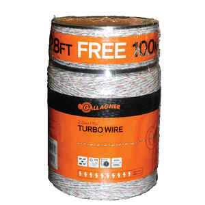 Gallagher  Electric Fence Wire  White