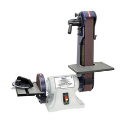 C.H. Hanson  Norse  42 in. L x 2 in. W Corded  Bench Top Belt and Disc Sander  Bare Tool  3.5 amps 1