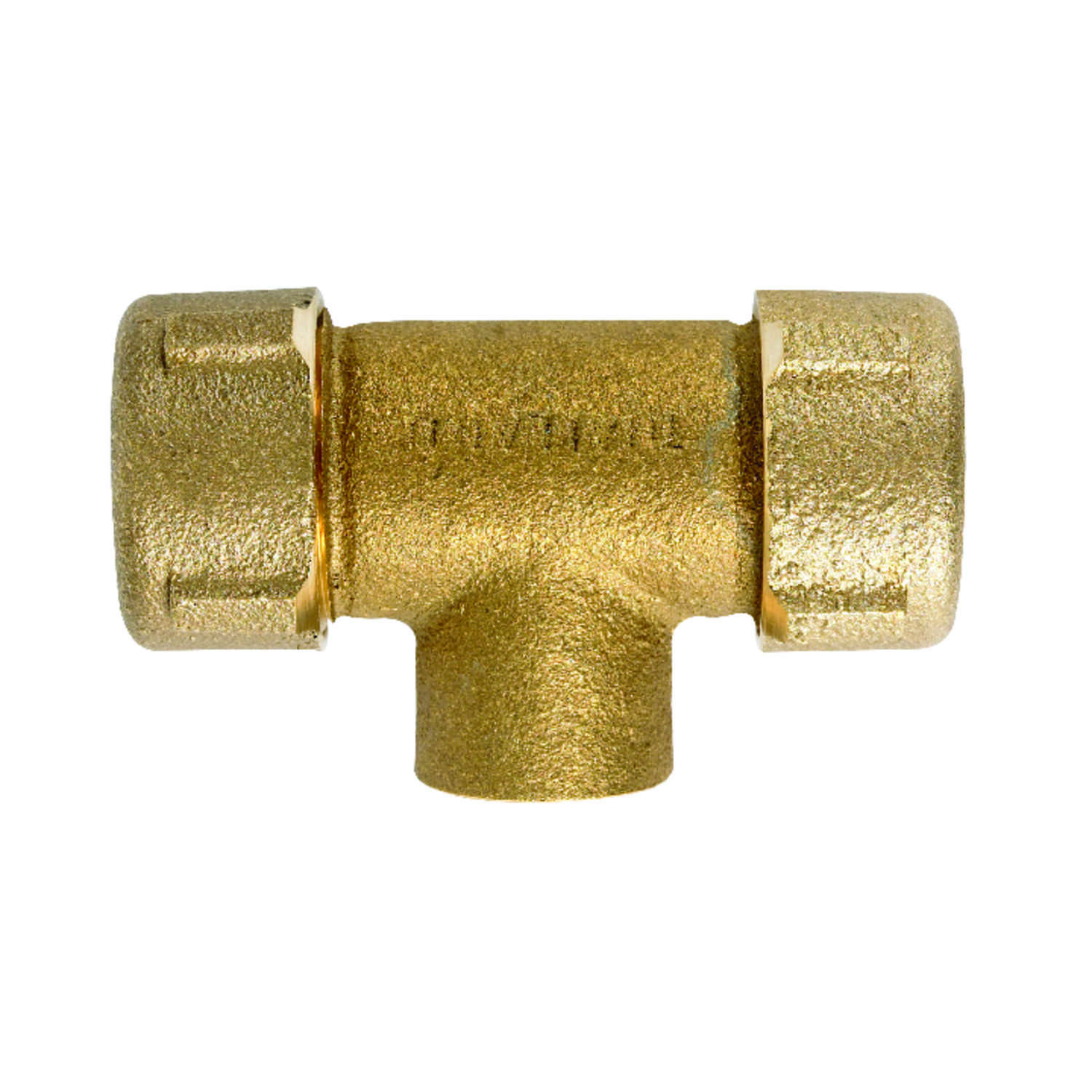 Mueller  1/2 in. FPT   x 3/4 in. Dia. Sweat  Galvanized  Brass  Tee