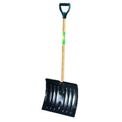Ames  True Temper  18 in. W x 49.5 in. L Steel  Snow Shovel