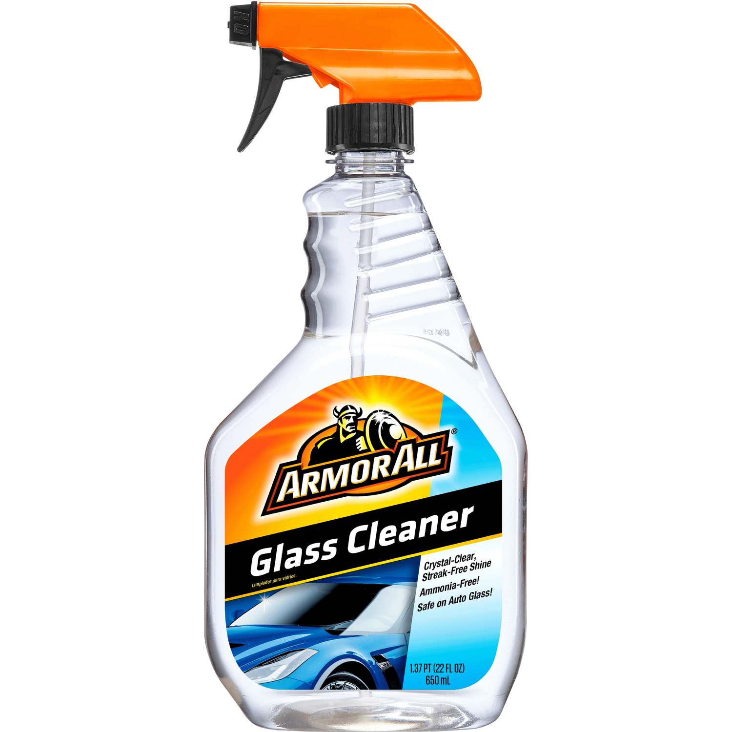 Armor All  Auto Glass Cleaner  Liquid  22 oz.