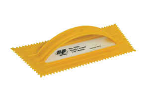 Marshalltown  QLT  4-1/2 in. W Plastic  Trowel  Notched