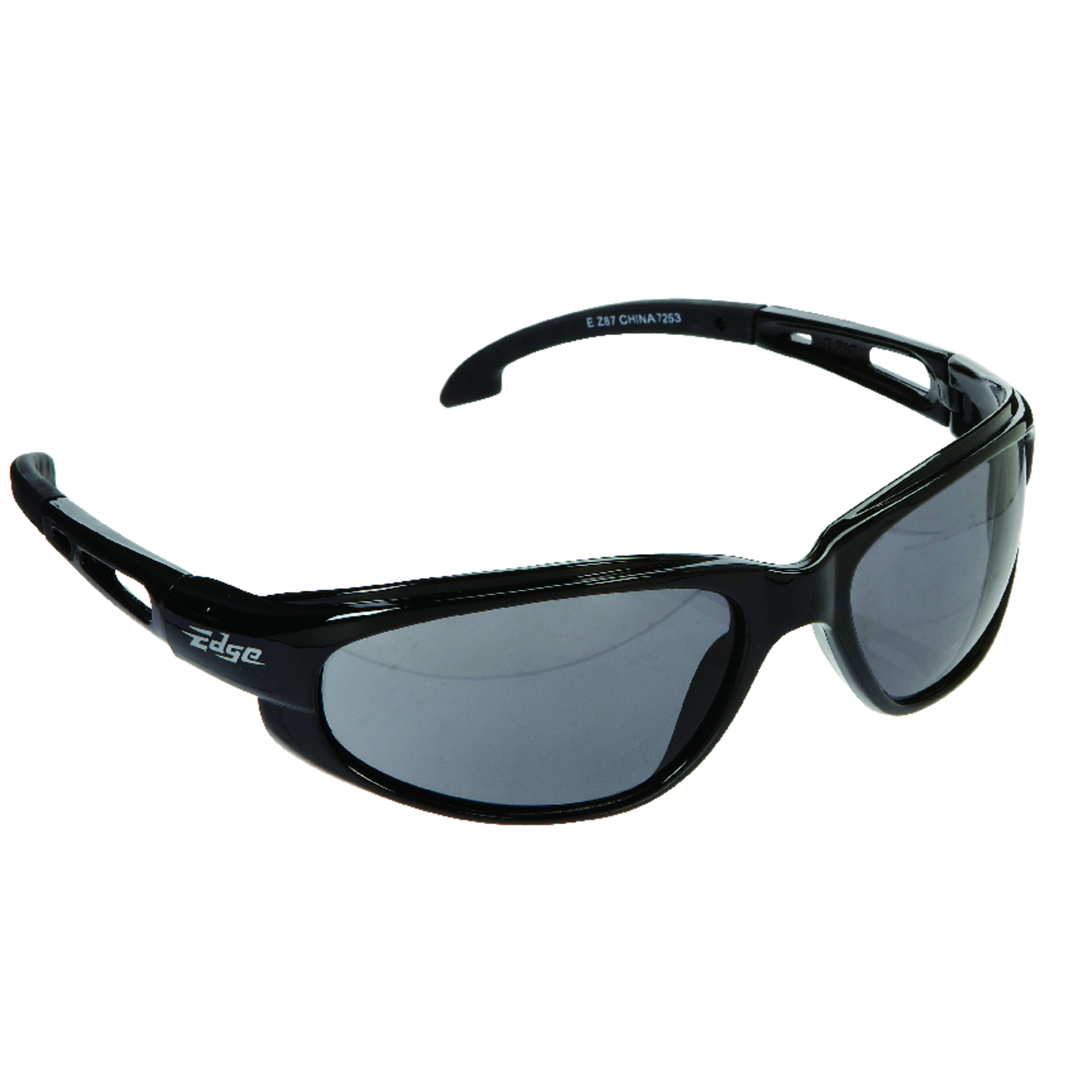 Edge Eyewear  Dakura  Safety Glasses  Black  1  Black