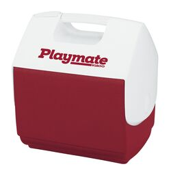 Igloo  Playmate Pal  Cooler  7 qt. Red