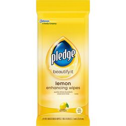 Pledge  Lemon Scent Furniture Polish  24 wipes Wipes