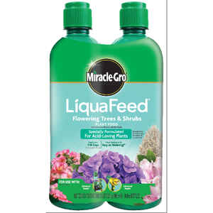 Miracle-Gro  LiquaFeed Flowering Trees & Shrubs  Liquid  Plant Food  2-16 oz.