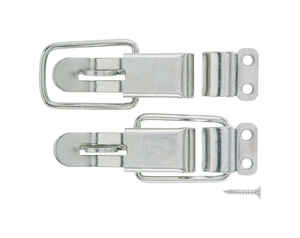Ace  Zinc-Plated  Zinc  2 pk Lockable Drawer Catch