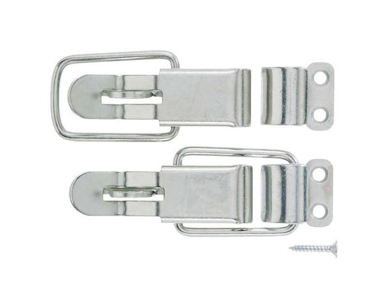Ace  Zinc-Plated  Zinc  Lockable Drawer Catch  2 pk