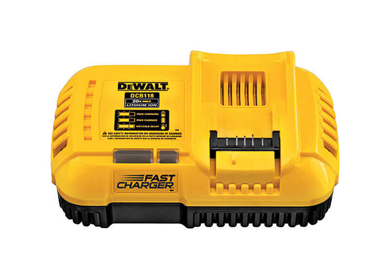 DeWalt  Fast Charger  1 pc. Lithium-Ion  Battery Charger  20 max volts