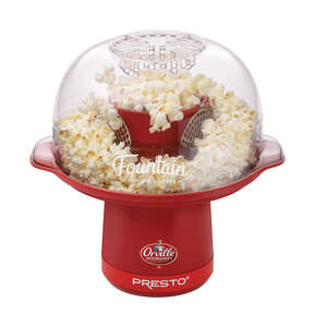 National Presto  Gloss  Red  Air  Popcorn Machine  20 cups