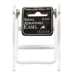 Tripar  8 in. Acrylic  Adjustable Easel  3.5 in. H x 2.75 in. W