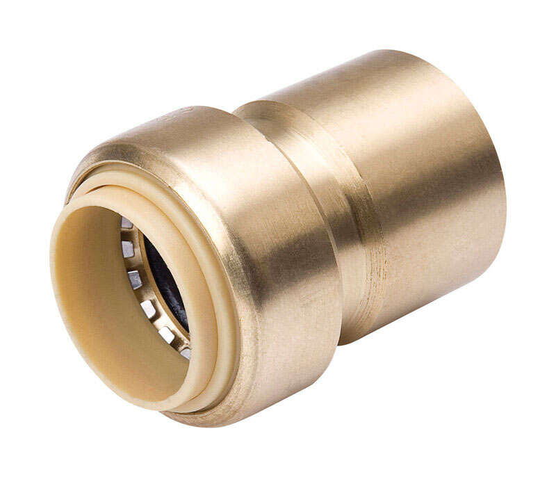 ProLine  Push to Connect Push   FPT  Brass  Valve Adapter