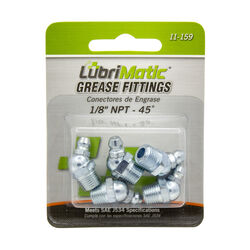 Lubrimatic  45 degree  Grease Fittings  5 pk