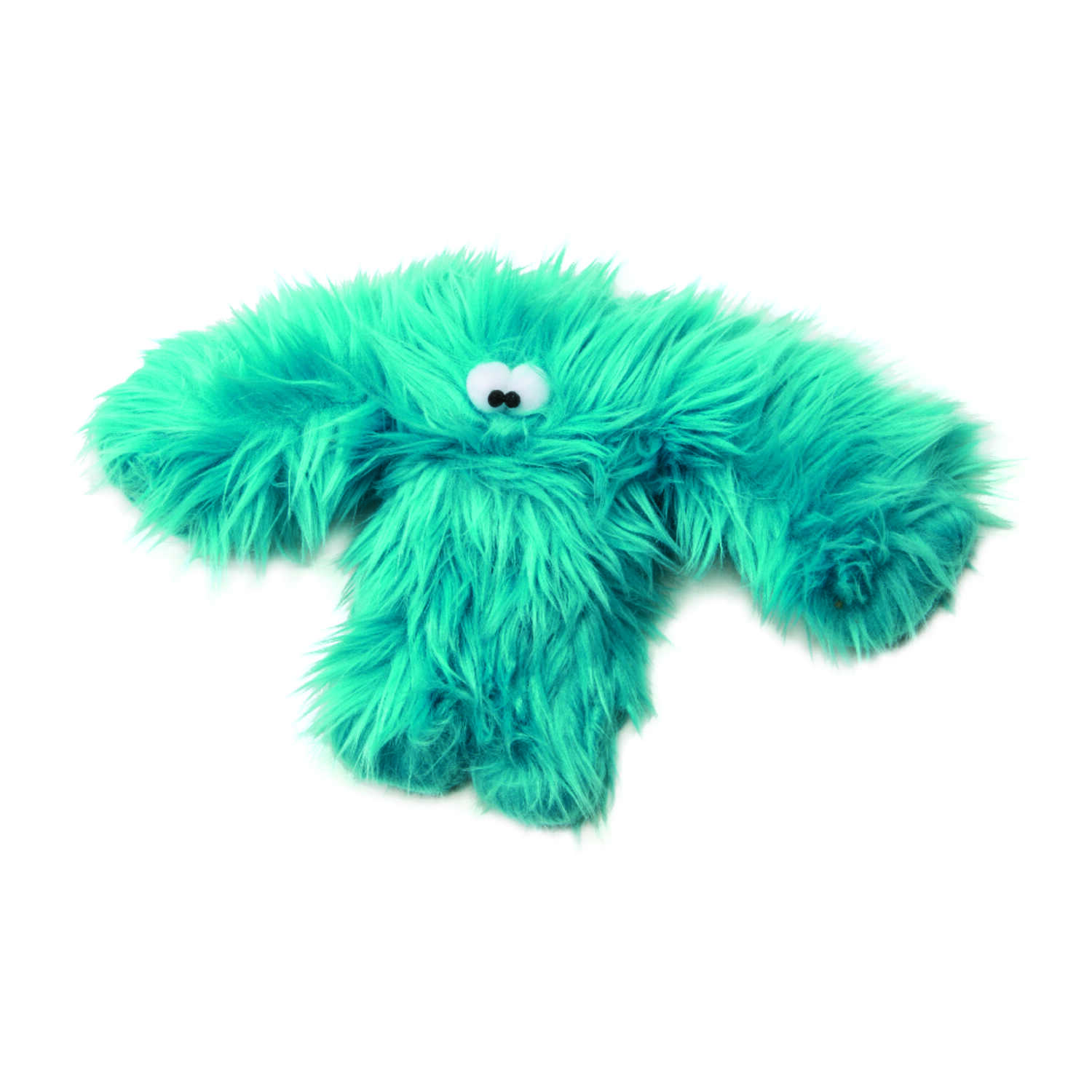 West Paw  Blue  Baby Salsa  Plush  Small  Dog Toy
