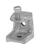 Unistrut  1/4 in. Iron  Beam Clamp  1 pk