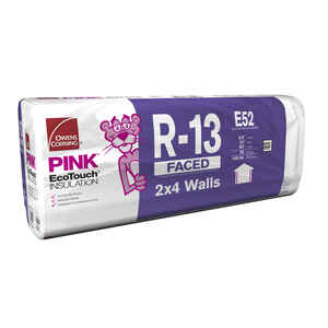 Owens Corning  23 in. W x 93  L 13  Kraft  Insulation  Batt  148.54 sq. ft.