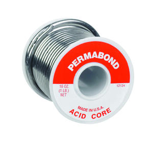 Alpha Fry  16 oz. Acid Core Wire Solder  0.125 in. Dia. 1 pc.