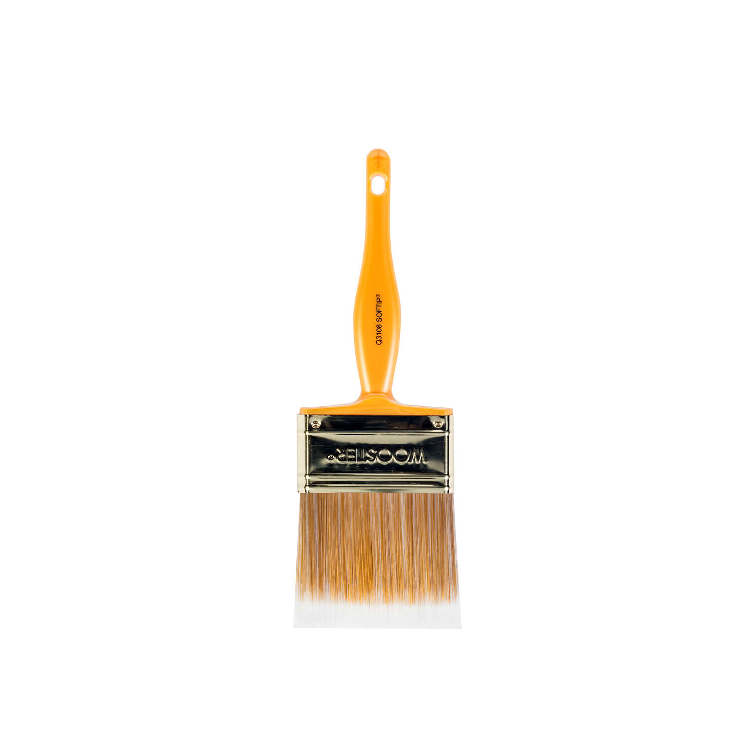 Wooster  3 in. W Flat  Paint Brush  Synthetic Blend  Softip