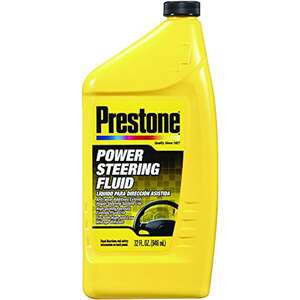 Prestone Power Steering Fluid 32 oz. Helps Stop Squealing