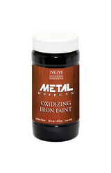 Modern Masters  Metal Effects  Iron  Water-Based  Oxidizing Paint  16 oz.